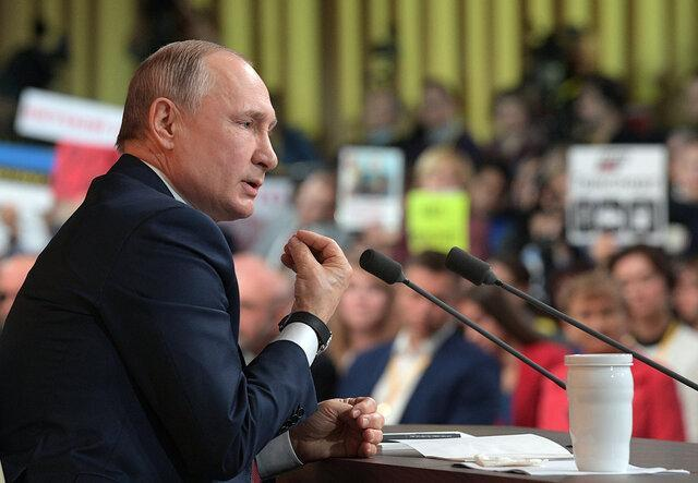 پوتین 5 مقام ارشد امنیتی را برکنار کرد