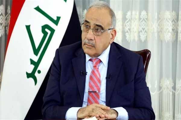 عادل عبدالمهدی زنگ خطر را برای عراق به صدا درآورد