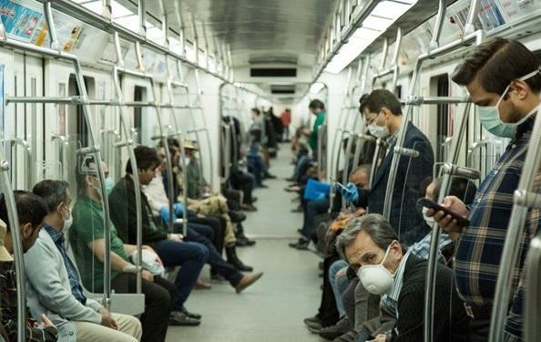 هشدار درباره خطر تردد با مترو در ساعات پیک